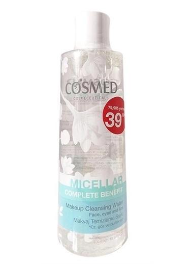 Cosmed Renksiz Yağlı Ciltleriçin Complete Benefit Micellar Makyaj Temizleme Suyu 400 Ml Renksiz